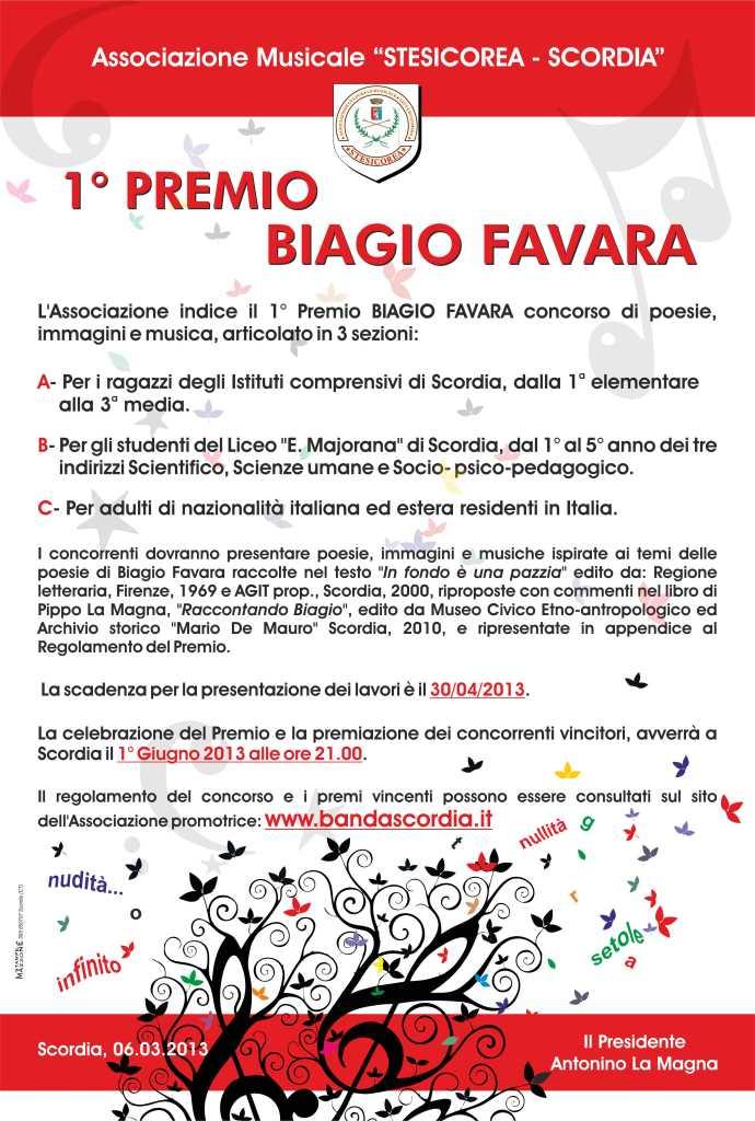 ASS. STESICOREA premio biagio favara-locandina