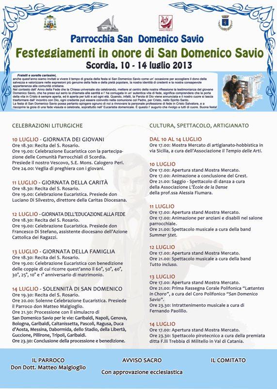 manifesto_san_domenico_savio_scordia_ufficiale