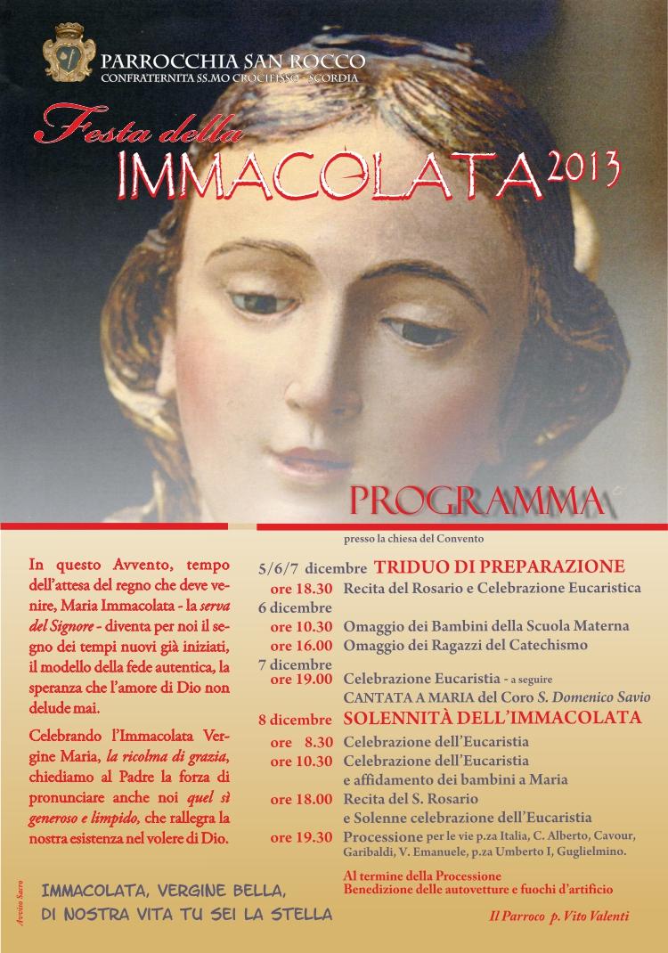 Immacolata_2013_programma intero