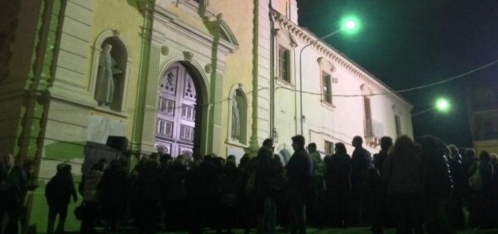 Palagonia riaperta al culto la chiesa del convento for Interno a un convento
