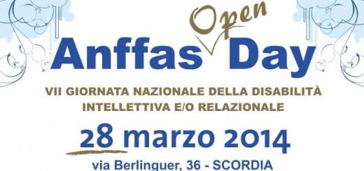 ANFFAS locandina open day banner