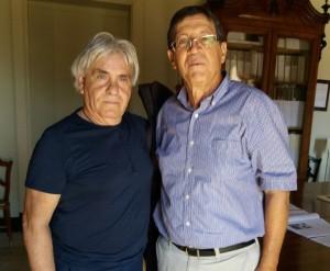 Il sindaco Franco Barchitta e il dimissionario assessore Nuccio Gambera