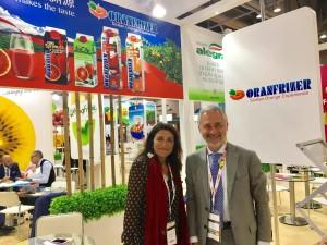 il marketing manager Salvo Laudani e l'export manager Sara Grasso