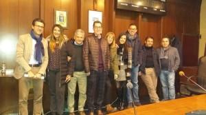 Foto di gruppo della maggioranza